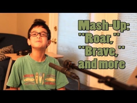 Mash-up: roar By Katy Perry + brave + More video
