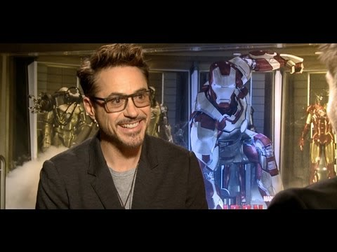 IRON MAN 3 interviews - Robert Downey Jr. and Gwyneth Paltrow