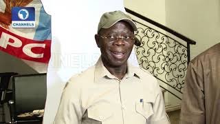 How Gov Amosun Tried To Impose 'Consensus' Candidates In Ogun-- Oshiomhole