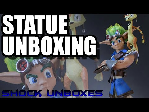 SHOCK UNBOXES JAK AND DAXTER STATUE