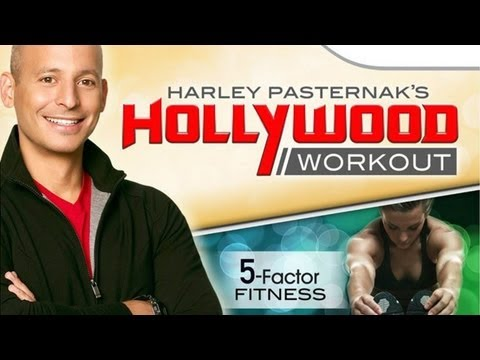 CGRundertow HARLEY PASTERNAK'S HOLLYWOOD WORKOUT for Nintendo Wii Video Game Review