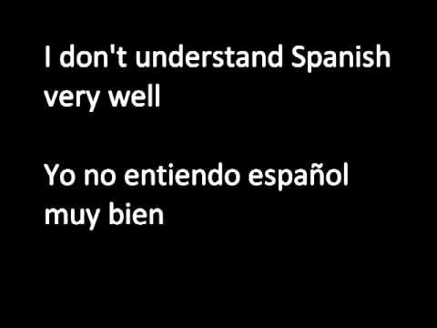 Learn Spanish 3 - Easy Lesson