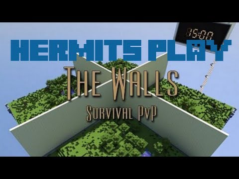 Hermits Play The Walls Survival PvP - E03 2v2