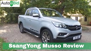 2019 SsangYong Musso Review