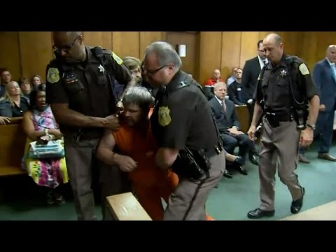 Uber Kalamazoo Driver Is Dragged Out of Court After Lunging at Crying Witness