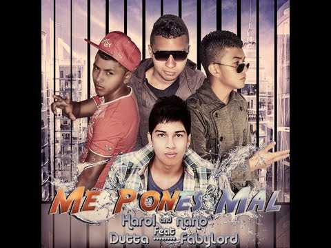 ME PONES MAL - Dutta Ft. Harol Y Nano & Faby Lord (Video Lyrics) LOVE CRAZY RECORDS 2013
