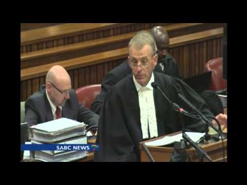 Pistorius arrives in court, Chriselda Lewis reports