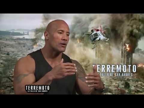 Entrevista Dwayne Johnson - Terremoto La Falla de San Andrés