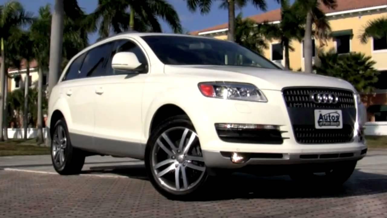 2008 Audi Q7 4 2l Quattro A2622 Youtube