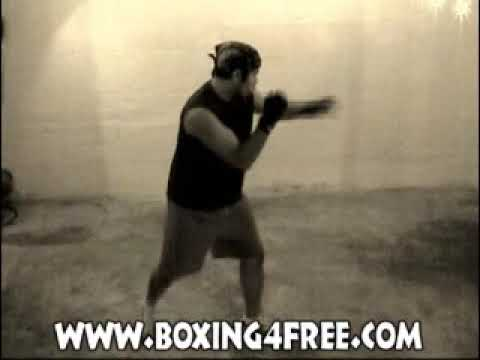 Shadow Boxing with Footwork - boxing4free.com Image 1
