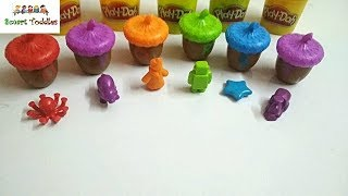 Learn Alphabets O to T With ALPHABET ACORNS ACTIVITY SET For Kids And Children #03
