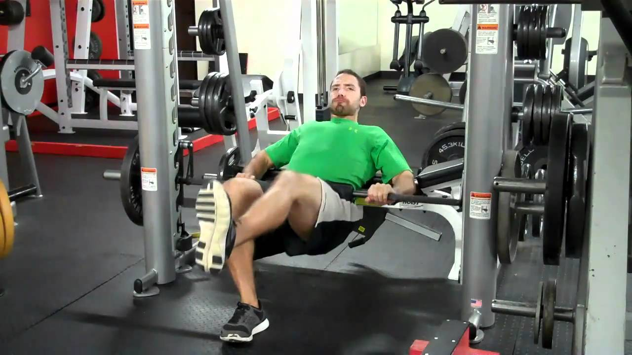 Smith Machine Weights Smith Machine Weighted Glute