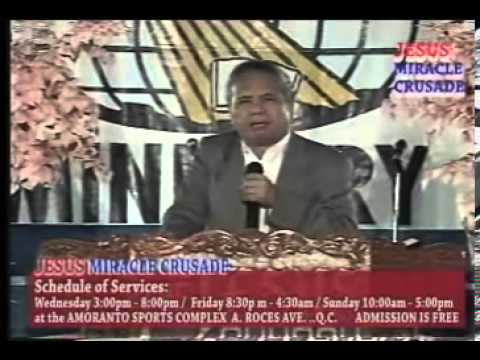 Jesus Miracle Crusade International Ministry Jmcim 11 (baguio Convention Center) video