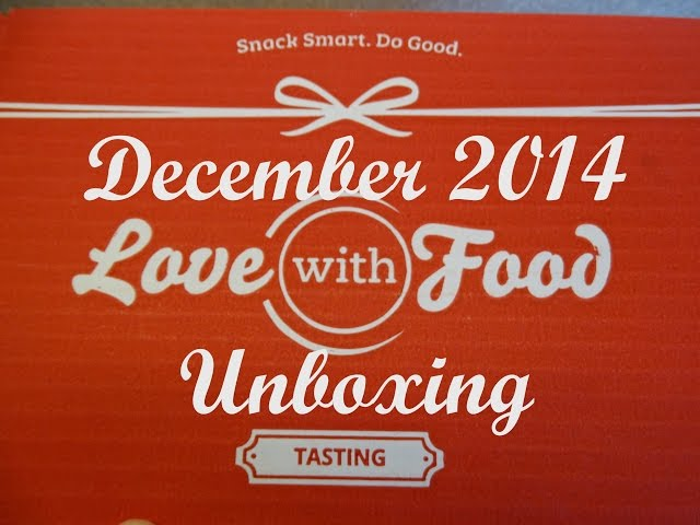 Love With Food Box Review - First Box Free!