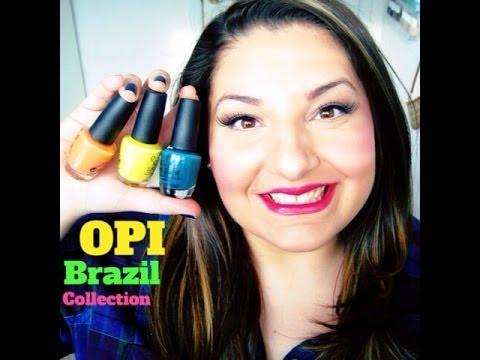 Opi brazil collection live application amp review travel the world