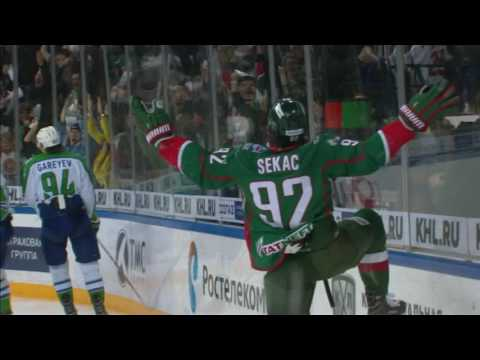 Jiri Sekac finishes the season for Kazan's rivals