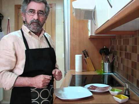 Trucha asada al microondas