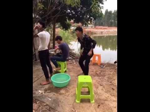 Смешное видео  китайцев