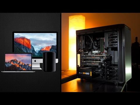 $988 Hackintosh vs Mac Pro - 5K iMac & 2016 MacBook Pro