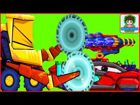 car eats car 2 Игра как мультик про хищные машинки от Фаника 4