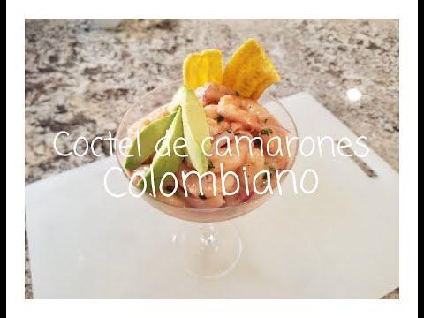 COCTEL DE CAMARONES COLOMBIANO - LA MAMA COCINORA