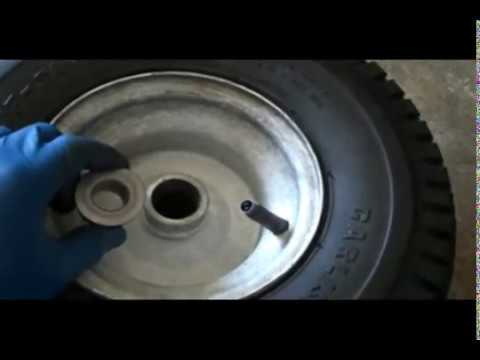 How To Replace Riding Mower Wheel Bushings