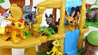 The Lion Guard! Protect the land of the sun that the hyenas and wolves invade! - DuDuPopTOY