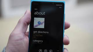 The HERE location experience on Windows Phone 8