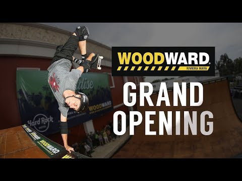 Woodward Riviera Maya Grand Opening Weekend