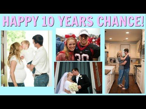 10 YEARS MARRIED // HAPPY ANNIVERSARY CHANCE // WEDDING