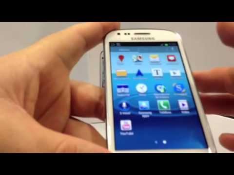 Samsung Galaxy S3 Mini. Demostración a cargo de Andotel.com del Samsung i8190 Galaxy SIII Mini