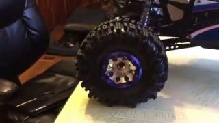 Axial bomber upgrade tire swap