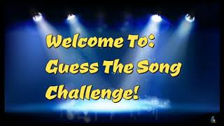 I did the try to guess the song challenge p.s read description
