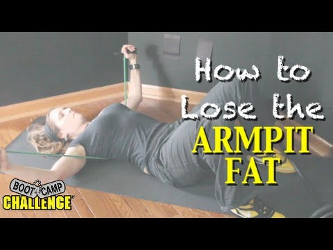 how to get rid of armpit fat overnight