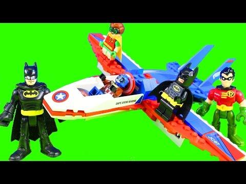Lego batman Movie Episode 3 Who Will Rescue Imaginext Batman Robin & Joker From Phantom Zone