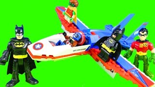 Lego batman Movie Episode 3 Who Will Rescue Imaginext Batman Robin & Joker From Phantom Zone
