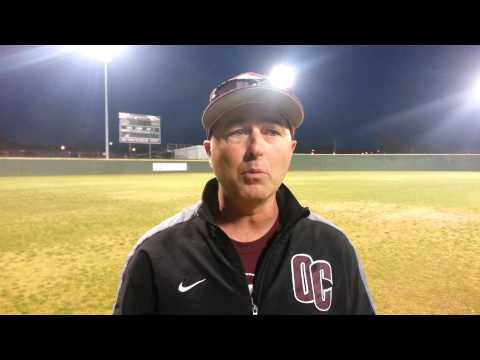 Lonny Cobble after Lubbock Christian doubleheader -- April 18, 2014