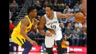 Utah Jazz vs San Antonio Spurs NBA Full Highlights (5TH DECEMBER 2018-19)