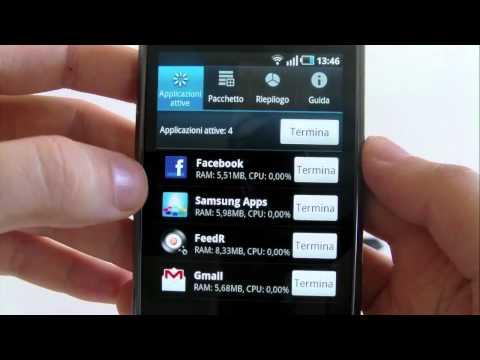 Samsung Galaxy S (i9000), videorecensione breve in italiano (AndroidWorld.it)