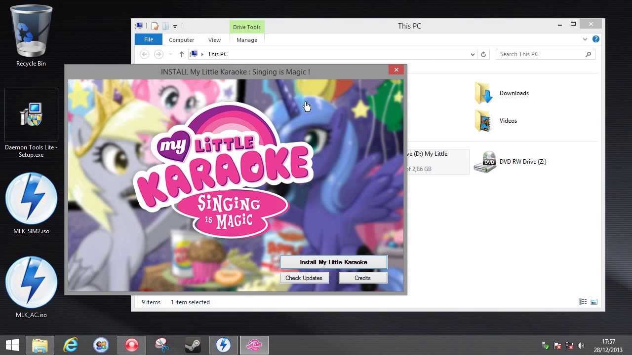 How-To: Install My Little Karaoke and set-up Singstar microphones - YouTube