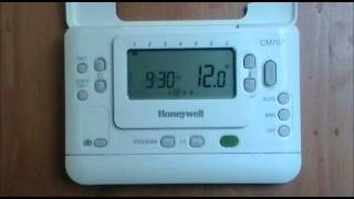 Play honeywell st9100s timeswitch user instructions from advantagesw - Thermostat leroy merlin ...