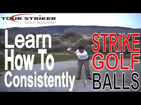 How to consistently strike golf balls!!