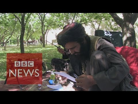 Inside a Taliban stronghold - BBC News