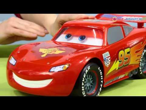 Big Personality Lightning McQueen Vehicle / Gadający Zygzak McQueen - Auta / Cars 2 - Mattel - Y3113