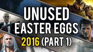 Best Unused Video Game Easter Eggs of 2016 (Part 1)