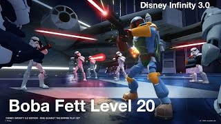 Disney Infinity 3 0 Boba Fett Level 20 Max Skill View
