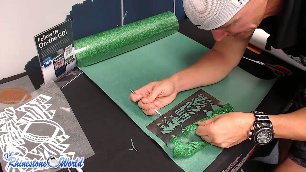How To Make A Custom Glitter Football Mom Shirt With A
