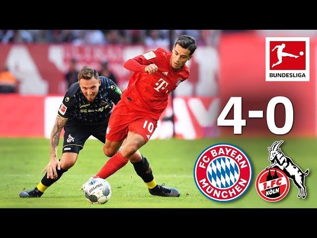 Coutinho39s First League Goal amp Lewandowski Brace I Bayern MГnchen vs. 1. FC KГln I 4-0 I Highlights