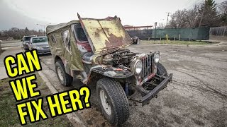 The Rusty 1948 Willys Jeep Ran Great Before It Broke Down Again - Project Slow Devil Pt 4