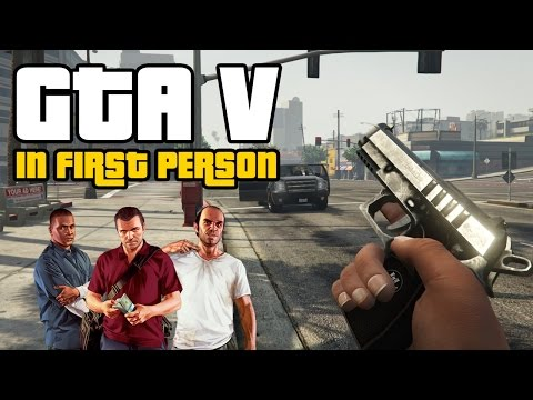 GTA 5 in First Person has us all excitable (PS4 Gameplay)